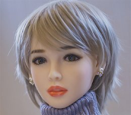Top Solido Oral Sex Doll Head Toy Love For Men Orale Profondità 13cm TPE Dolls Head Fit Body da 140cm a 170cm