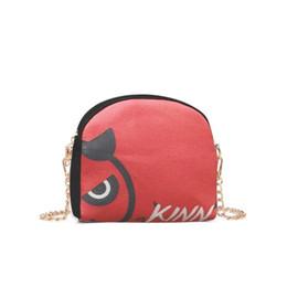 $enCountryForm.capitalKeyWord UK - Girls Mini Cute Cartoon Print Fashion Shoulder Handbags Women Female Canvas Zipper Chain Crossbody Messenger Phone Bags