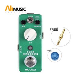 pedal mooer UK - Mooer Lofi Machine Sample Reducing Guitar Effect Pedal Wide Range Sampling Rated Epth Reducing Effects Full Metal Shell True Bypass