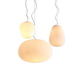 Hanging Glass Ball Lights Australia - Northern Europe Pendant Light 3Head Simple Personality Pendant Lamp White Glass Ball Modern Children's Room Hanging Lamp