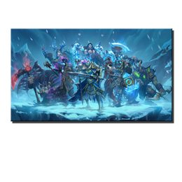 freezing figure NZ - Knights of The Frozen Throne -2,HD Canvas Printing New Home Decoration Art Painting Unframed Framed
