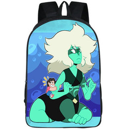 $enCountryForm.capitalKeyWord Australia - Crystal Gems backpack Steven Universe daypack Beach City schoolbag Cartoon print rucksack Sport school bag Outdoor day pack