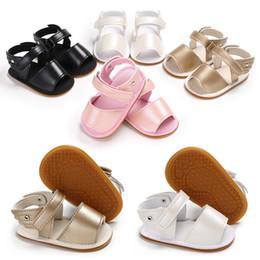 $enCountryForm.capitalKeyWord Australia - 2018 Brand New Cute Newborn Infant Baby Girls Floral Princess Shoes Toddler Summer Sandals PU Rubber sole Non-slip Shoes 0-18M