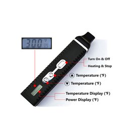 Best Dry Vaporizer Pen Australia - Original Portable Dry Herb Vaporizer Vape Pen HEBE Best Vape Box Mods Heat-not-Burn Kits With Temperature Control Display Free Shipping