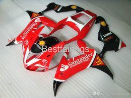 Fairing Red For Yamaha R1 Australia - 100% Fitment. High quality Injection molding fairing kit for YAMAHA R1 2002 2003 red black white fairings YZF R1 02 03 GG38