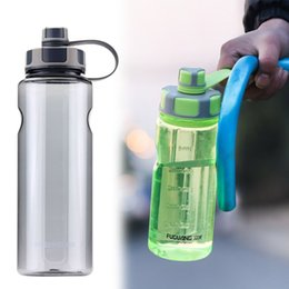 bpa free travel water bottle Australia - Bpa Free 1500ml Large Capacity Plastic Water Bottle Creative Bicycle Portable Outdoor Sport Kettle Travel Fruit Juice Tea Cup T8190627