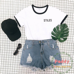 unisex graphic tees NZ - Stiles Stilinski 24 Teen Wolf Women Men Unisex T Shirt Graphic Tshirts Streetwear T-shirt Ringer Tees Tumblr Shirts Cotton Tops Y19051301