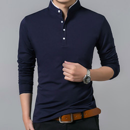 $enCountryForm.capitalKeyWord Australia - High Quality Men Polo Shirt Mens Long Sleeve Solid Polo Shirts Camisa Polos Masculina Popular Casual cotton Plus size S-3XL Tops