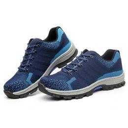 Simple ShoeS bootS online shopping - 2019 Men s shoes Leisure Simple Platform Steel toe cap Non slip Puncture protection Construction boots Outdoor work shoe NSE7096