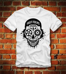 bicycle sales NZ - 2019 Hot Sale 100% cotton BOARDRIPPAZ T SHIRT FIXED GEAR FIXIE FAST FOLKS BICYCLE FAHRRAD RENNRAD SKULL FG Tee shirt(1)