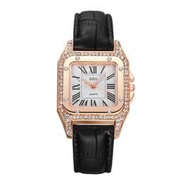 Small Clocks Watch UK - 2019 NEW Watches Women Fashion Square Small Dial Quartz Wrist Watch Elegant Ladies Casual Business Watches Clock ladies watch
