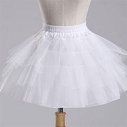 $enCountryForm.capitalKeyWord Australia - 2019 New Formal Children Petticoats for Flower Girl Dress Hoopless Short Crinoline Little Girls Kids Underskirt 45cm