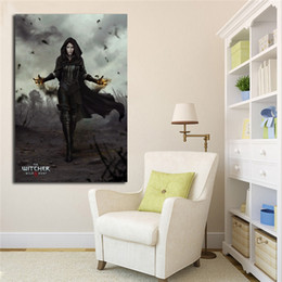 16x24 painting Australia - Witcher 3 Yennefer Posters Canvas Painting Oil Wall Art Print Pictures For Living Room Home Decoracion