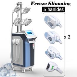 $enCountryForm.capitalKeyWord Canada - 2019 Hot sale Cryo lipo slimming 5 handles vacuum therapy body machine criolipolisis fat freezing machine slimming machine