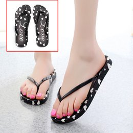 Wholesale 2019 Summer Style Women Slippers Cute Cartoon Bear Cat Floral Pattern Beach Flip Flops EVA Bottom Outdoor Indoor Non Slip Shoes
