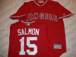 $enCountryForm.capitalKeyWord Australia - Cheap Custom Anaheim TIM SALMON Baseball jerseys Red Stitched Retro Mens jerseys Customize any name number MEN WOMEN YOUTH XS-5XL