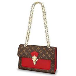 $enCountryForm.capitalKeyWord UK - 2019 M41731 Victoire New Fashion Red Chain Bag Handbags Shoulder Bags Hobo Handbags Top Handles Boston Cross Body Messenger Shoulder Bags