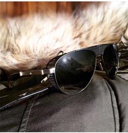 Vision alloy online shopping - Top luxury K gold men eyewear car brand Maybach vision fashion designer pilot frame glasses top outdoor uv400 sunglasses G WG Z36