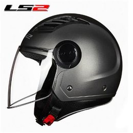 $enCountryForm.capitalKeyWord Australia - LS2 OF562 airflow open face motorcycle helmet jet scooter half face motorbike helmets man woman original LS2 summer helmet