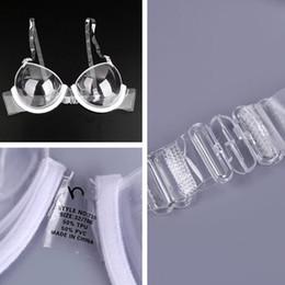 $enCountryForm.capitalKeyWord NZ - Cup 3 4 Transparent Clear Women Push Up Bra Ultra-thin Strap Invisible Bras Underwear good quality drop shipping