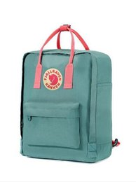 high quality backpack brands Australia - Fjallraven Top Sell Canvas Bags Fashion Brand Outlet Mom Bags Computer Bags High Quality Eating Chicken Backpacks Popular