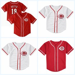 toddler jerseys UK - Infant Toddler baby Joey Votto Matt Kemp Yasiel Puig Scooter Gennett Jesse Winker Joe Morgan Barry Larkin Johnny Bench Jersey Stitched