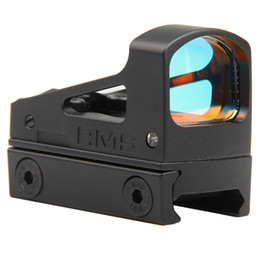 $enCountryForm.capitalKeyWord Australia - 2019 Tactical Trijicon RMS Reflex Micro Red Dot Sight Scope Optical With Ventilated Mounting and Spacers For Airsoft Pistol HT5-0035