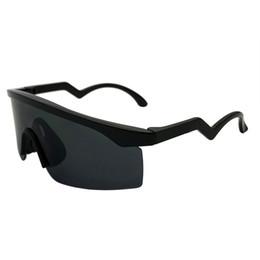 Designer de alta qualidade óculos de sol espelho óculos de sol de volta brilhante / lente preta O óculos de sol óculos frete grátis OK96 em Promoção