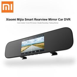 Drive Gps Australia - Xiaomi Mijia Smart Car Dash Camera 5 inch IPS Rearview Mirror Car DVR Voice Control Driving Recorder 160 Degrees Parking Monitor