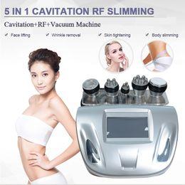Fat dissolving machines online shopping - 5in1 K Liposuction Cavitation Ultrasonic Slimming Vacuum RF Machine Fat Dissolve ultrasound cavitation Body Beauty Slimming