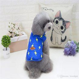 Easter Vest Australia - F69b dog cotton vests dog winter vest pet winter clothes warm coat 2018 new style free shipping