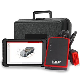 7 Wifi Tablet Australia - VDM V4.1 Wifi Diagnostic Tool Supports All Systems Multi-Language Tablet Scanner for Cars Windows 7 8 10 Android OBD2 Scanner