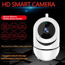Smart panS online shopping - Wireless wfi mini IP Camera P Cloud Wifi Smart Camera Intelligent Auto Tracking of Human Home Security Surveillance CCTV camera