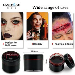 $enCountryForm.capitalKeyWord Australia - DIY Cos Halloween Makeup Ultra-realistic Fake Blood Face Paint Simulation Of Human Vampire On Props Festival Party Supplies