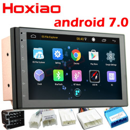 gps android 2din Australia - car dvd 2 Din Android 7.0 Car Radio multimedia Player Universal GPS Navigation Bluetooth WiFi 2din Autoradio Stereo Audio camera dvr map