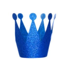 $enCountryForm.capitalKeyWord Australia - Gift Prince Princess Crown 6Pcs lot Birthday Party Trend Popular 2018 Products Chic Personality Modern