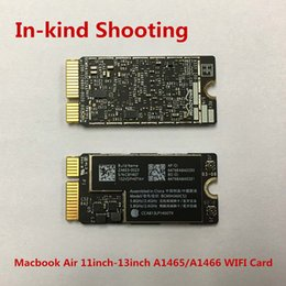 internal bluetooth card 2019 - Original New 98% WIFI Bluetooth Card for Macbook Air 11inch 13inch A1465 A1466 1000Gbe 4.0 BT BCM94360CS2 MD711LL A MD76