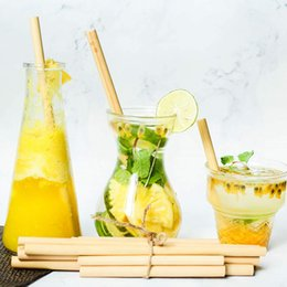 plastic alternatives NZ - Eco-friendly Bamboo Straws for Drinking BPA Free | Ecological Alternative To Plastic Straws Strong & Durable Bamboo Multi-usage Straw VT1727