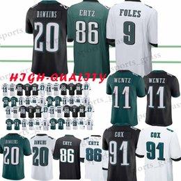 4912f2b62 11 Carson Wentz Philadelphia jersey 9 Nick Foles Eagle 86 Zach Ertz 27  Malcolm Jenkins 20 Brian Dawkins Jerseys High-quality