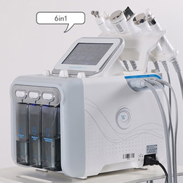 6in1 Hydrafacial Skin Care Face Cleaner Hydro Peeling Skin Rejuvenation Face Lift Blackhead Remover Dermabrasion Machine on Sale
