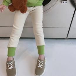 Korea girl legs online shopping - 2019 Korea style girls thicken leggings autumn winter cotton fashion girls leggings t