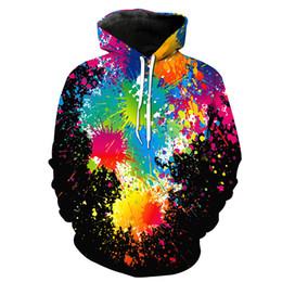 58b509c6 Men Hoodie Paint 3D Full Print Man Hooded Sweatshirt Unisex Casual Pullover  Hoodies Long Sleeves Sweatshirts Digital Graphic Tops (RL0470)