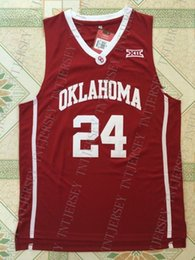 $enCountryForm.capitalKeyWord NZ - Cheap custom Buddy Hield #24 NCAA Oklahoma College Basketball Jersey Red White Stitched Customize any number name MEN WOMEN YOUTH XS-5XL