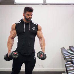 $enCountryForm.capitalKeyWord Australia - Hot 2018 Men Gyms Hoodies Gyms Fitness Bodybuilding Sweatshirt Crossfit Pullover Sportswear Mens Workout Hooded Jacket Clothing