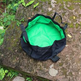 $enCountryForm.capitalKeyWord Australia - Portable Collapsible Face Washing Basin Outdoor Travel Camping Picnic Water Bag Bucket Bowl Sink Washing Folding Fishing Barrels