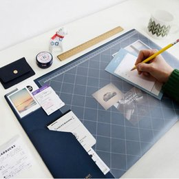 office desk supplies Australia - 2017 2018 Calendar Korea Kawaii Candy Color Office Desktop Table Mat Multifunction Weekly Planner Organizer Holder Desk Supplies SH190926