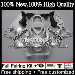 Honda Cbr929 Australia - Body For HONDA CBR900 RR CBR 929RR CBR 900RR CBR929RR 00 01 54PG13 CBR 929 RR CBR900RR CBR929 RR 2000 2001 Fairing Bodywork Repsol white