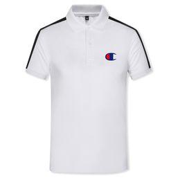 $enCountryForm.capitalKeyWord Australia - 2018 New Mens Designer Printed applique Polo Shirts Cotton long Sleeve Camisas Polos Round neck Male Polo Shirt men tee S-3XL