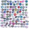 $enCountryForm.capitalKeyWord NZ - 50pcs lot Mixed styles 18mm Metal Snap Button Charm Rhinestone Styles Button Ginger Earring Bracelets Necklace Charm Beads