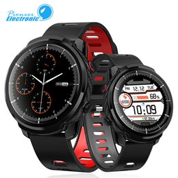 Watch long bracelet online shopping - L5 Plus Bracelet Smart Watch IP68 Waterproof Full Touch Screen days Long Standby Men Smartwatch Message Reminder PK B57 Z6
